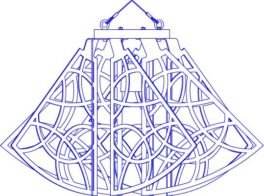 Lámpara CROÓ Rogal circular